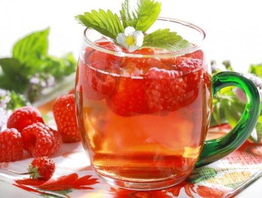 Raspberry-Green-Tea