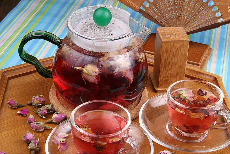 Roseleaf+Tea,Rose+Petal+Tea,Rugosa+Rose+Tea,Dried+Flower