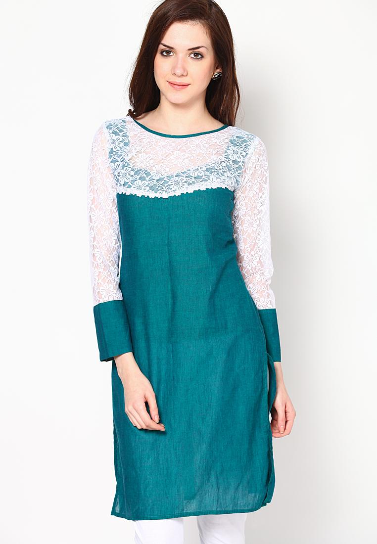 full-sleeve-green-embroidered-kurti-2-original