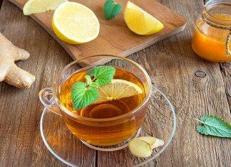 Benefits Of Lemon Tea